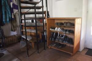 Het schoenenkastje is klaar voor gebruik