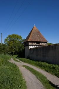 Detail van het kasteel