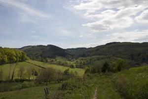 Uitzicht tijdens wandeling