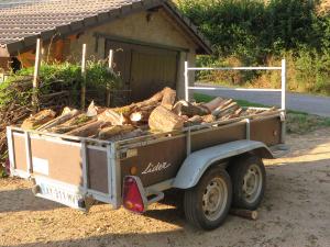 Karretje hout