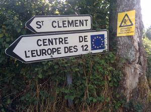 De locatie met de waarschuwing