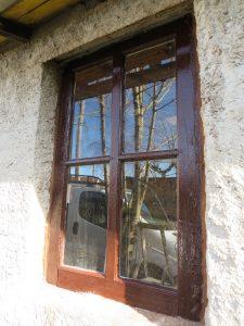 En het raam aan de zijkant