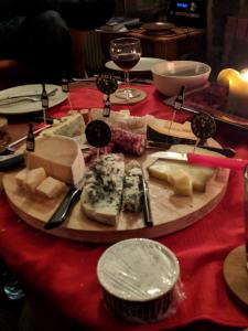 Kaas, worst en port konden natuurlijk niet ontbreken.
