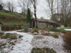 Een dun laagje sneeuw