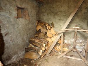De houtvoorraad slonk hard