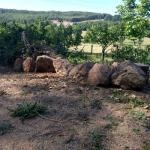Een afschijding van stenen