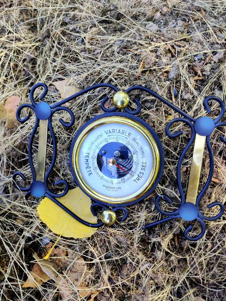 Een nieuwe barometer van een rommelmarkt