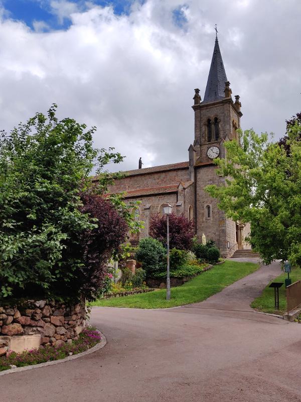 Kerk bij Le Crozet