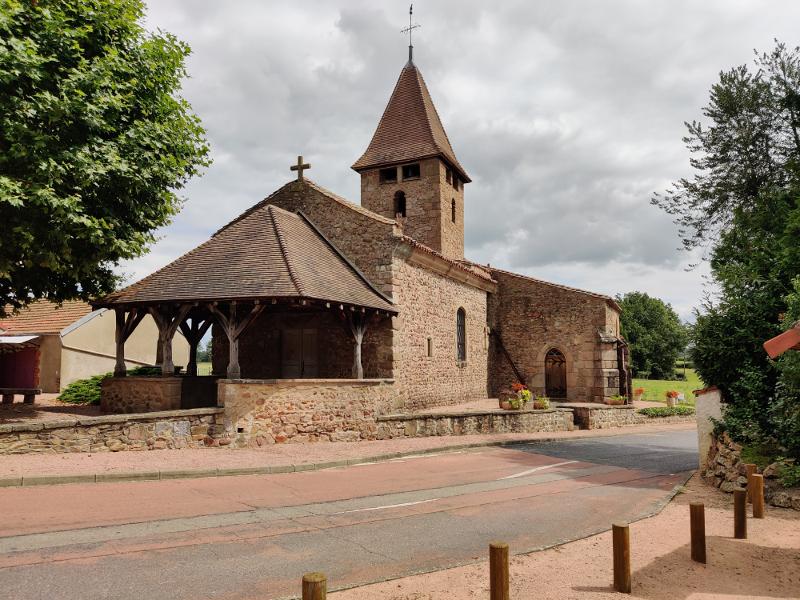 Kerk bij Sail-les-Bains