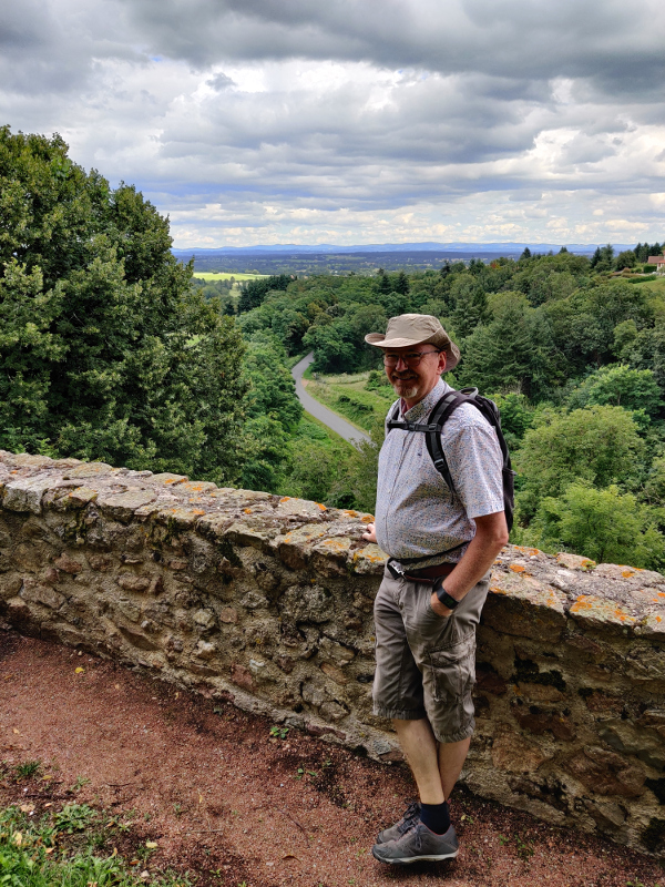 Uitzicht vanaf Le Crozet